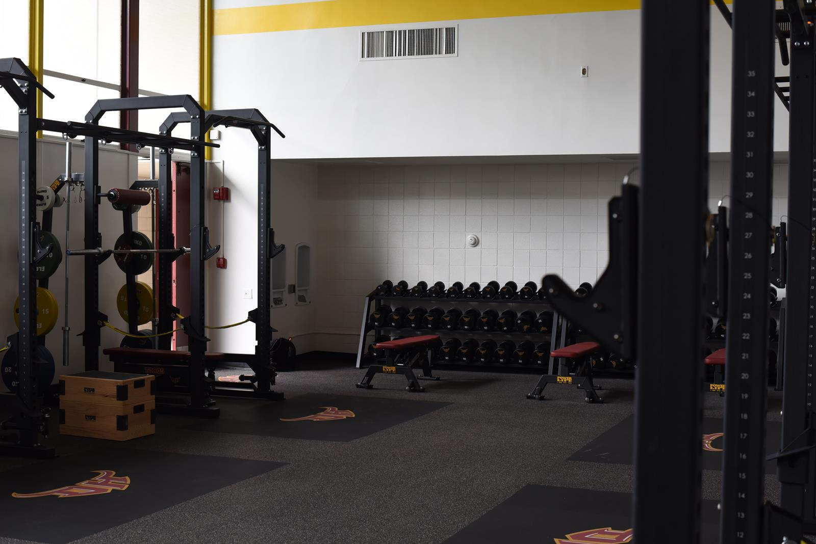 Weight room facilities cal state dominguez hills athletics